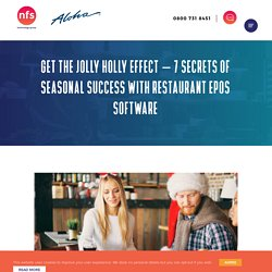 7 Secrets of Seasonal Success with Restaurant EPOS Software