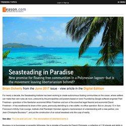 Seasteading in Paradise