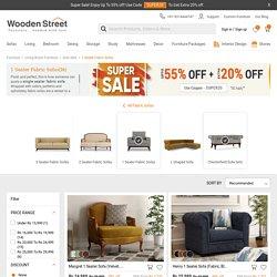 Buy One Fabric Sofa Set online upto 55% OFF