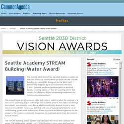 Seattle Academy STREAM Building (Water Award)