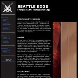 Seattle Edge - Maintenance