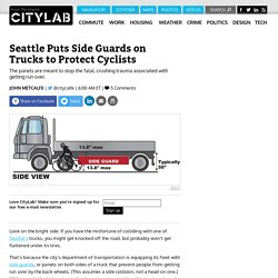 Seattle Equips its Trucks With Crush-Proofing Side Guards