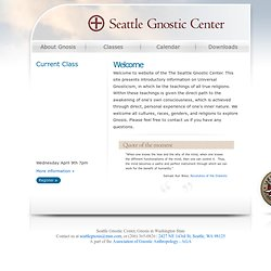 Seattle Gnostic Center