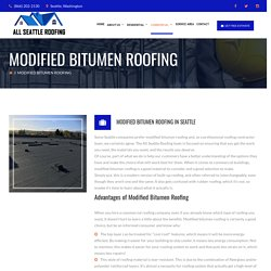 Commercial Roof Repair Company in Seattle