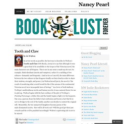 Nancy Pearl's Book Reviews