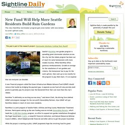 New Fund Will Help More Seattle Residents Build Rain Gardens