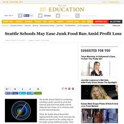Seattle Schools May Ease Junk Food Ban Amid Profit Loss