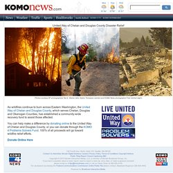 United Way of Chelan and Douglas County Disaster Relief