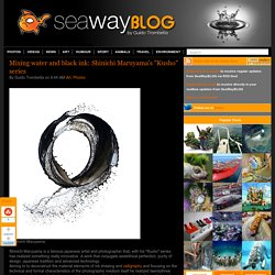 "SeaWayBLOG: Mixing water and black ink: Shinichi Maruyama's ""Kusho"" series"