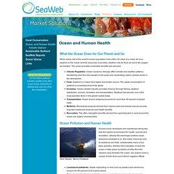 Ocean and Human Health