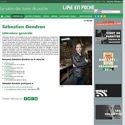 Sébastien Gendron - L'édition 2016 - Lire En Poche