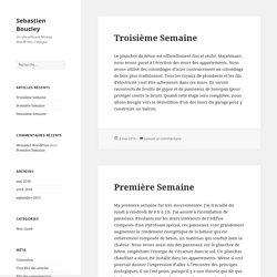 Sebastien Boucley – Un site utilisant Réseau WordPress Collegial