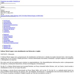 Sebrae Móvel segue com atendimento em Botucatu e região