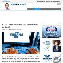 Sebrae promove curso para empresários de Avaré