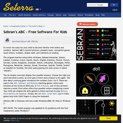 Sebran's ABC - Free Software For Kids