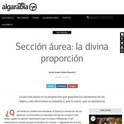 Sección áurea: la divina proporción – Algarabía