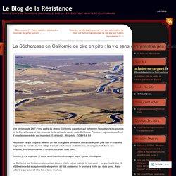 Enfoncement des sols mesurés avec le satellite canadien Radarsat-2 dans la vallée de San Joaquim, au centre de la Californie, entre le 3 mai 2014 et le 22 janvier 2015. Deux « foyers » d'affaissements importants (jaune et rouge) ont été identifiés. L'un p