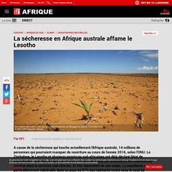 La sécheresse en Afrique australe affame le Lesotho