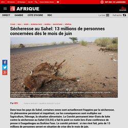 Sécheresse au Sahel: 13 millions de personnes concernées dès le mois de juin