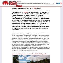 Sècheresse : les barrages, fausse solution face au dérèglement climatique - FNE Midi-Pyrénées