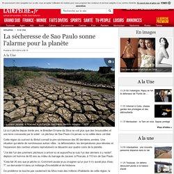 La sécheresse de Sao Paulo sonne l'alarme pour la planète - 25/11/2014