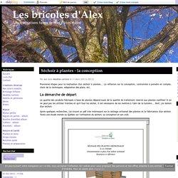 Séchoir à plantes - la conception - Les bricoles d'Alex