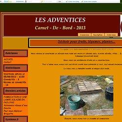 Séchoir pour fruits, légumes, plantes... - LES ADVENTICES DE FRANCE