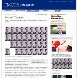 Second Chances : Emory Magazine