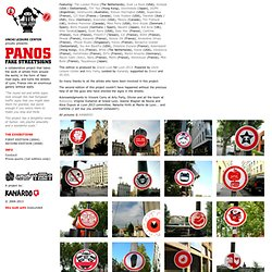 SECOND EDITION (2008) : PANOS 2013, FAKE ROADSIGNS