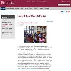 Second Grade Welcomes Drum Café