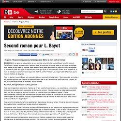 Second roman pour L. Bayot