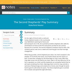 The Second Shepherds' Play Summary - eNotes.com