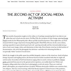The Second Act of Social-Media Activism