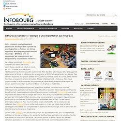 BYOD au secondaire : l'exemple d'une implantation aux Pays-Bas