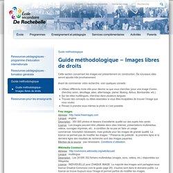 Images libres de droits (École secondaire De Rochebelle)
