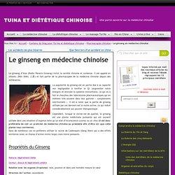 Ginseng: les bienfaits et effets secondaires - Diététique chinoise