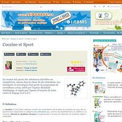 Cocaïne et sport, des effets secondaires gravissimes