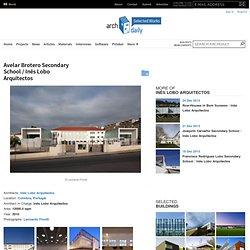 Avelar Brotero Secondary School / Inês Lobo Arquitectos