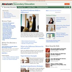 Secondary School Educators Homepage
