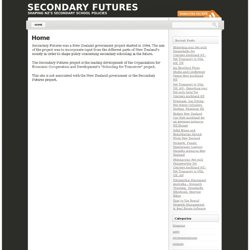 Looking at the future of secondary education in New Zealand | Se