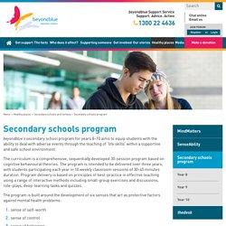 Secondary schools program