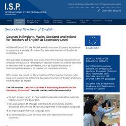 Secondary Teachers of English