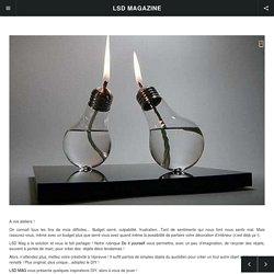 DIY : Offrez une seconde vie à vos ampoules !
