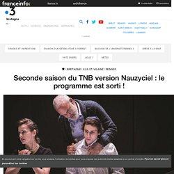 Seconde saison du TNB version Nauzyciel : le programme est sorti !