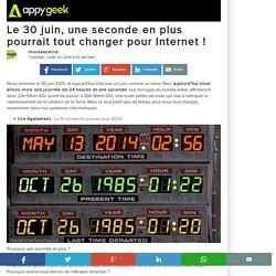 Le 30 juin, une seconde en plus pourrait tout changer pour Internet !