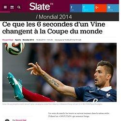 Ce que les 6 secondes d'un Vine changent à la Coupe du monde