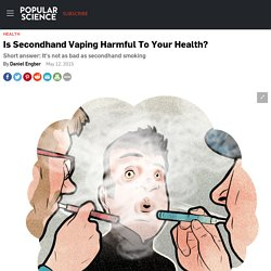 Is Secondhand Vaping Harmful To Your Health?
