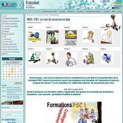 INDEX - PSC1 - Les cours de secourisme en ligne - Collège Fraissinet