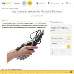 Les robots au secours de l'industrie française