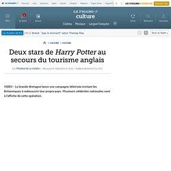 Culture : Deux stars d'Harry Potter au secours du tourisme anglais
